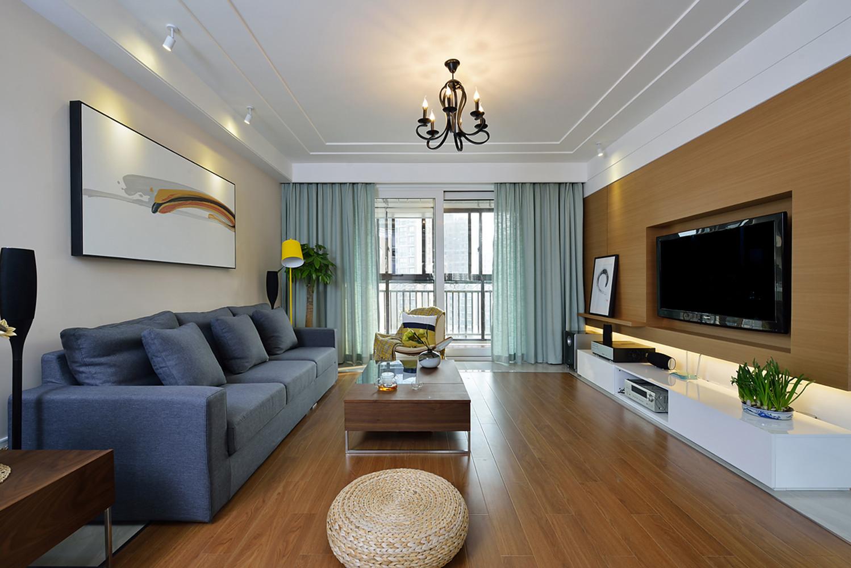 四居室简约装修客厅设计图