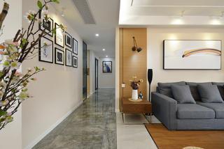 四居室简约装修走廊图片