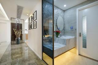 四居室简约装修洗手台设计