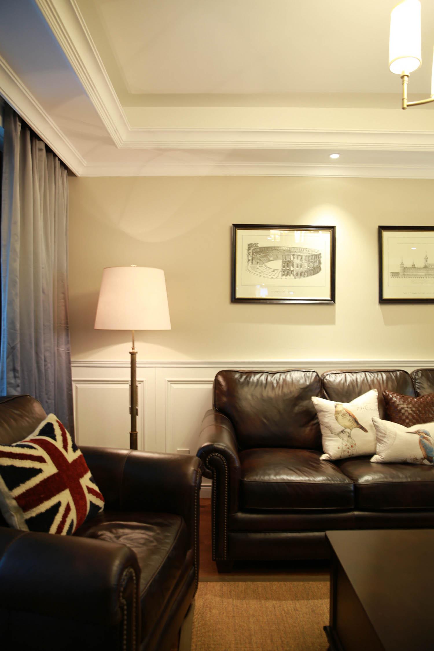 美式风格四居沙发图片