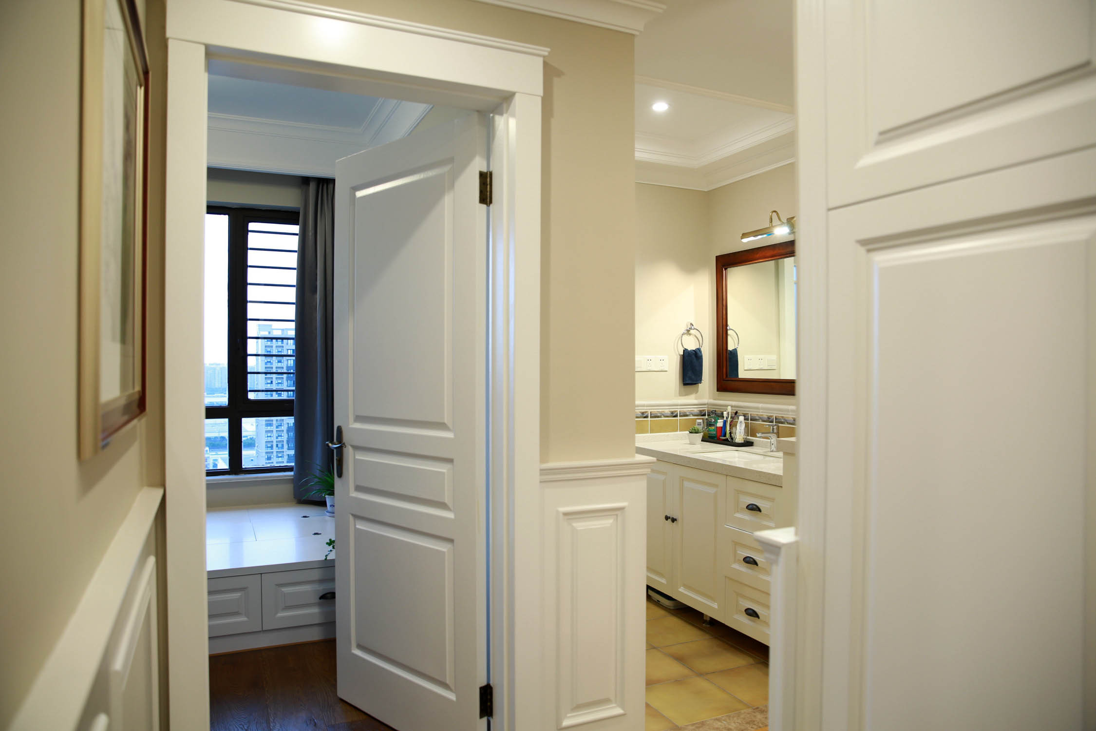 美式风格四居卫生间设计图
