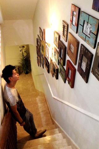 混搭别墅装修照片墙