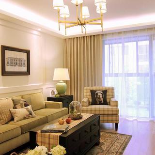 110平三居室装修 简约质朴