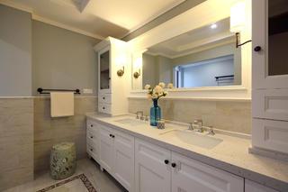 复式别墅装修洗手台图片