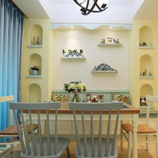 110平地中海装修餐厅设计图