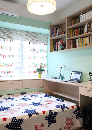 100平日式风格家榻榻米设计