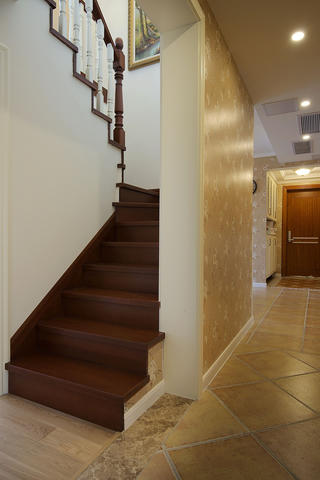 二居室混搭装修楼梯图片