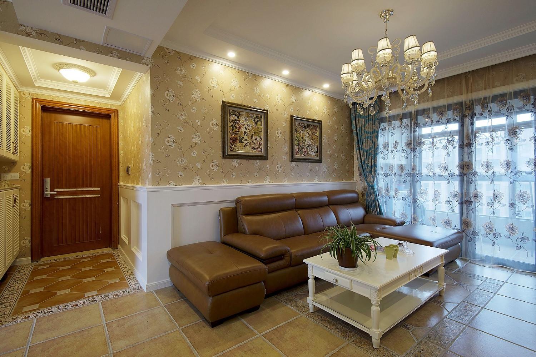 二居室混搭装修沙发图片