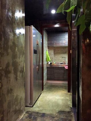 110平混搭三居室装修过道图片