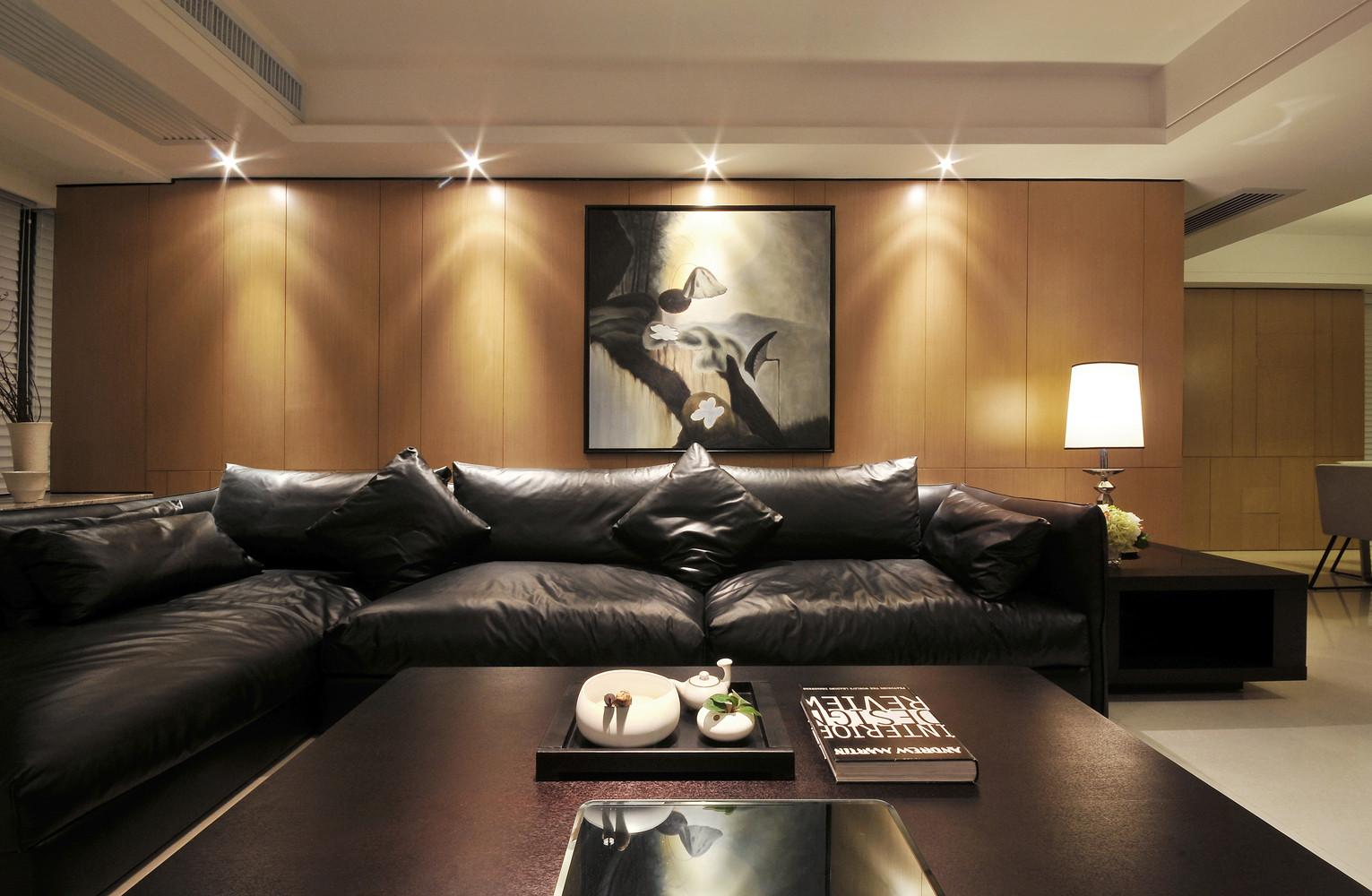 现代简约三居沙发图片