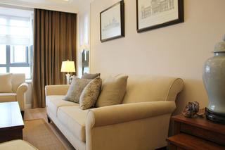 120㎡简约美式家沙发图片
