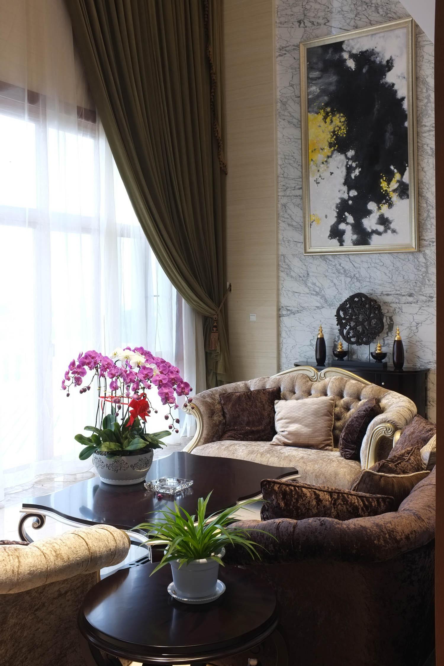 简欧风格别墅装修沙发图片