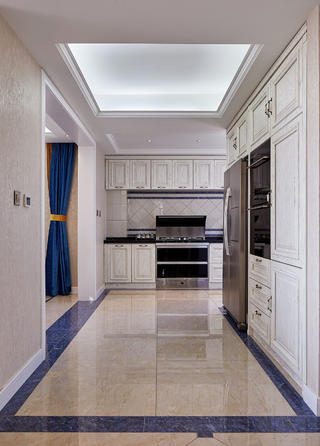 180平复式装修厨房设计