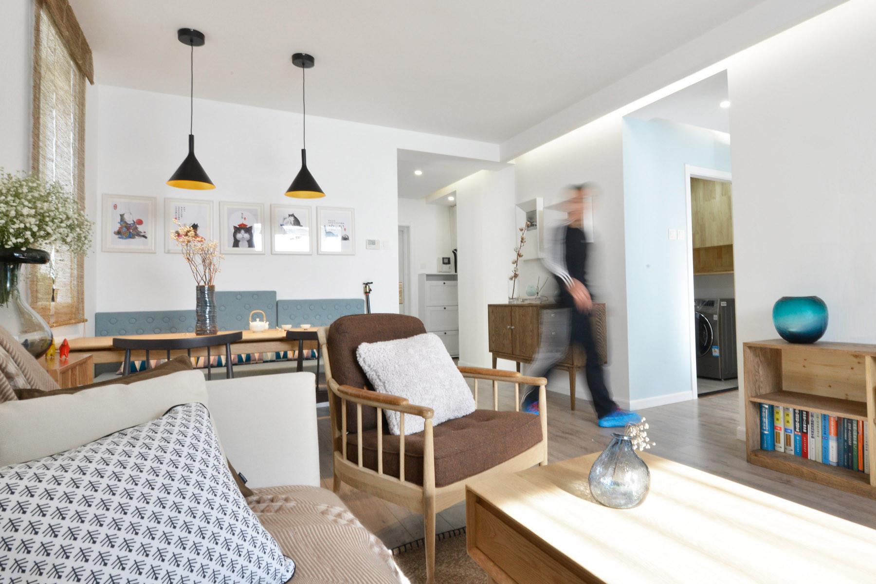 80平日式风格家沙发椅图片
