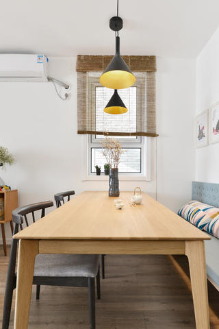 80平日式风格家餐厅设计图