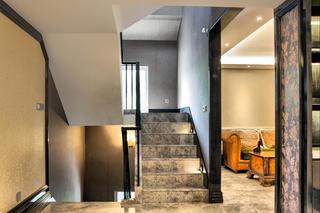 混搭别墅装修楼梯图片