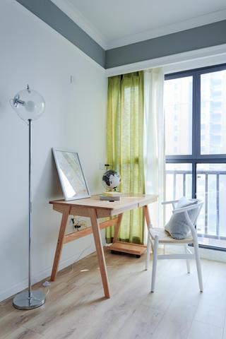 100平北欧风之家书桌图片