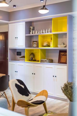 100平北欧风之家置物柜图片