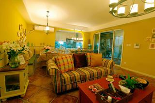 100㎡地中海风格家沙发图片