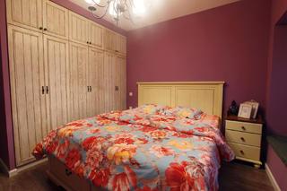100㎡地中海风格家卧室设计图