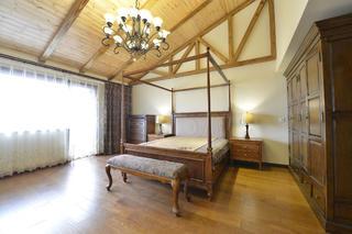 大户型美式风格家卧室吊顶