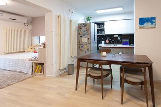小户型二居室餐厅设计图