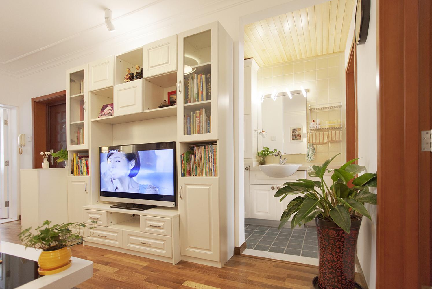 50平二居之家电视柜设计