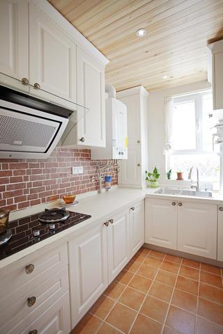 50平二居之家厨房效果图