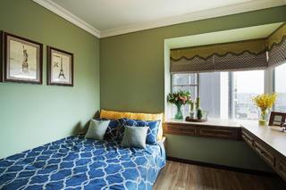 二居室美式装修飘窗设计