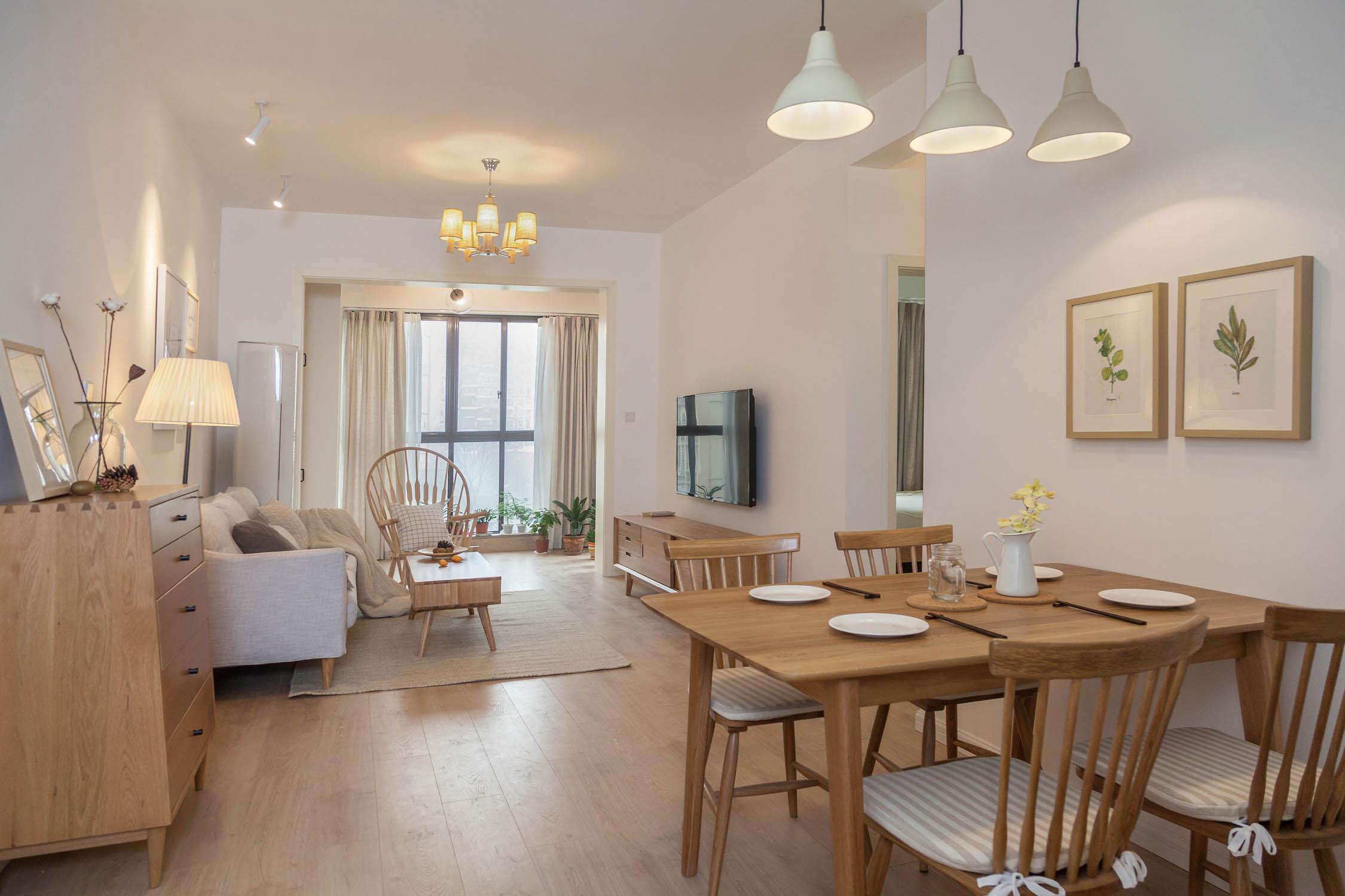 三居室北欧风之家客餐厅欣赏图