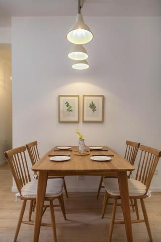 三居室北欧风之家餐桌图片