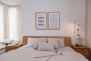 三居室北欧风之家床头柜图片