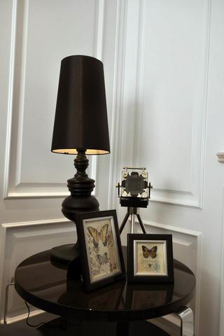 140平新古典样板间装修台灯图片