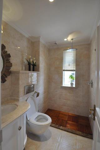 140平新古典样板间装修卫生间装潢图