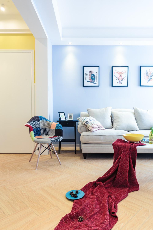 三居室北欧风之家装饰画图片