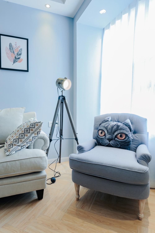 三居室北欧风之家沙发椅图片