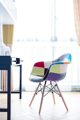三居室北欧风之家凳子特写
