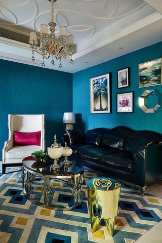 120平混搭之家沙发背景墙图片
