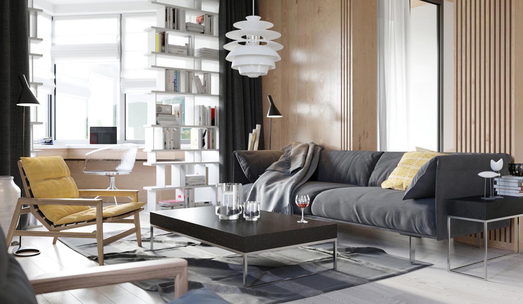单身公寓装修沙发图片