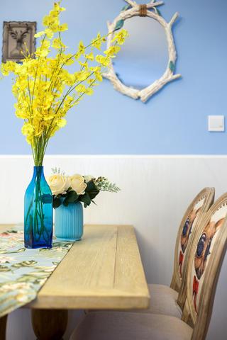 110平美式装修花瓶装饰