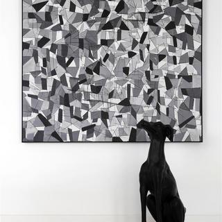 黑白极简装修效果图 品质空间