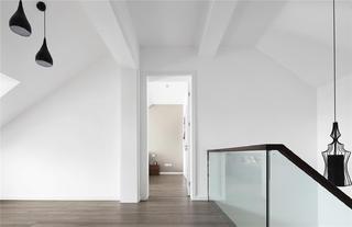 简约复式装修卧室走廊