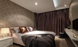 现代简约三居卧室设计图