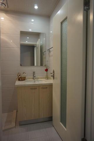 小户型一居室装修洗手台图片