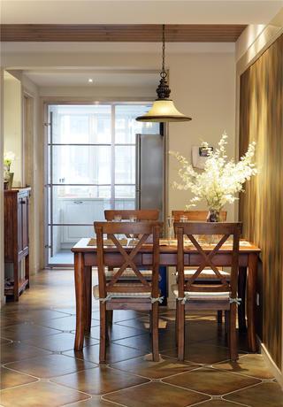 美式风格二居餐厅设计图