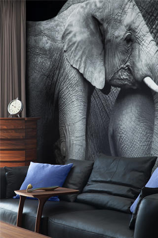 中式四居装修沙发图片