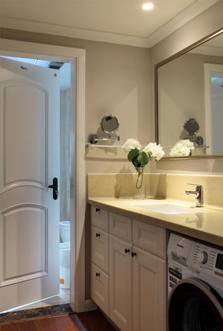 美式风格三居洗手台设计