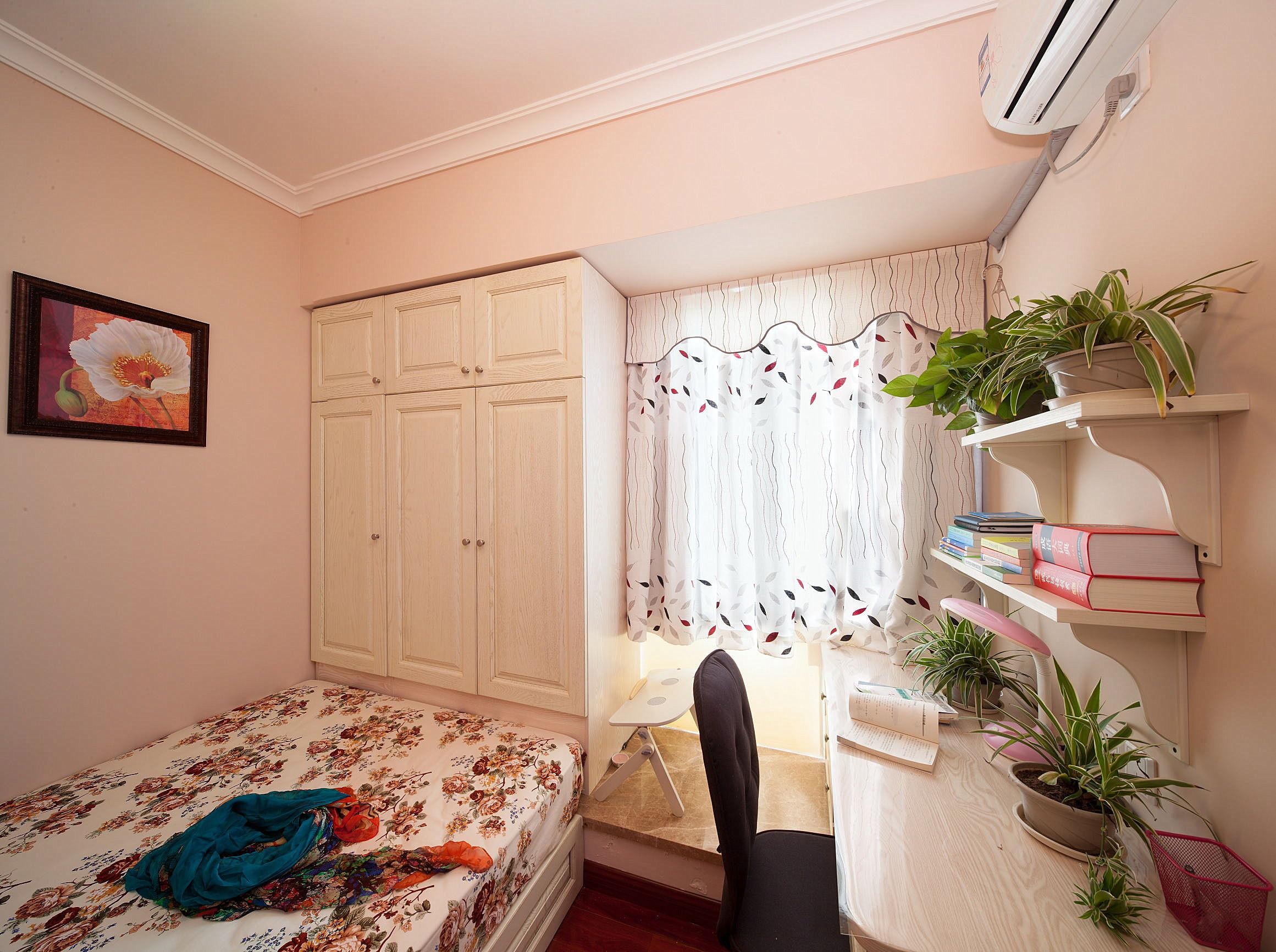 小户型田园风格家卧室设计图