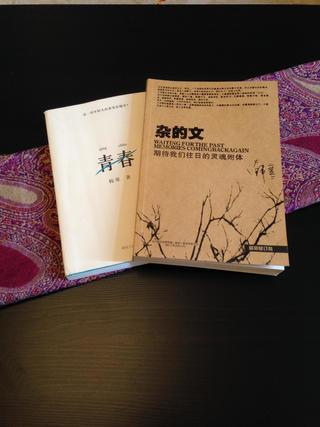 小户型田园风格家茶几书籍特写