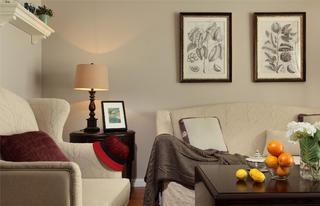 美式风格三居设计沙发图片